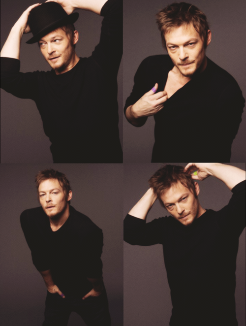 Apparently Daryl and Norman Reedus do have a few things in common!