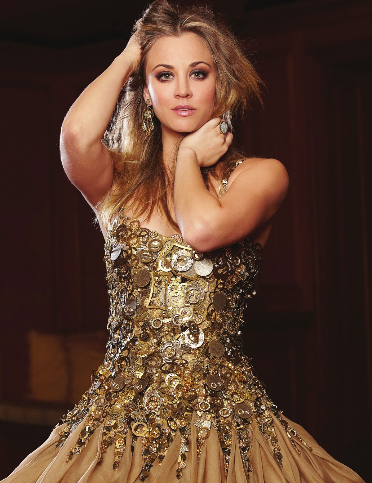 KALEY CUOCO in Beverly Hills Lifestyle Magazine