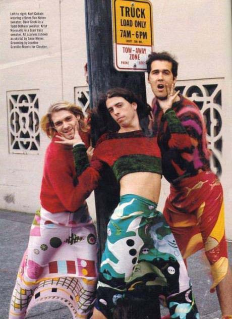 One of the many reasons why Nirvana was so awesome